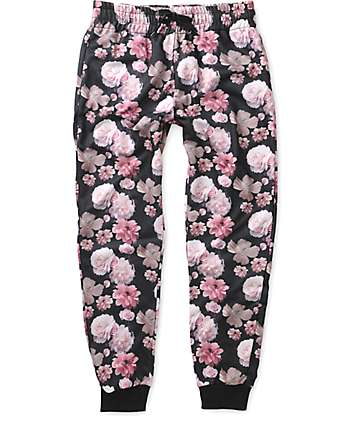 Primitive Rose Noir Jogger Sweatpants