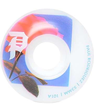Primitive Rose Out 53mm 101a Skateboard Wheels