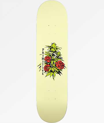 "Primitive Rosebud 8.0"" Skateboard Deck"