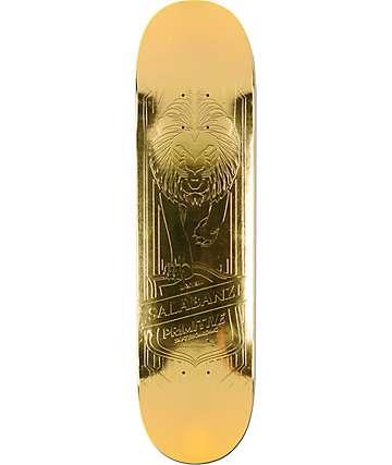 "Primitive Salabanzi Gold Lion 7.8"" Skateboard Deck"