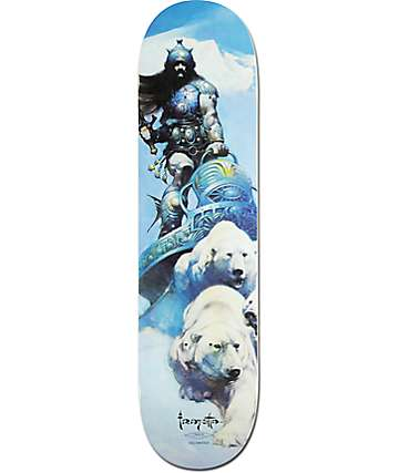 "Primitive Salabanzi Warrior 8.0"" Skateboard Deck"
