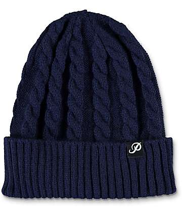 Primitive Shout Navy Beanie
