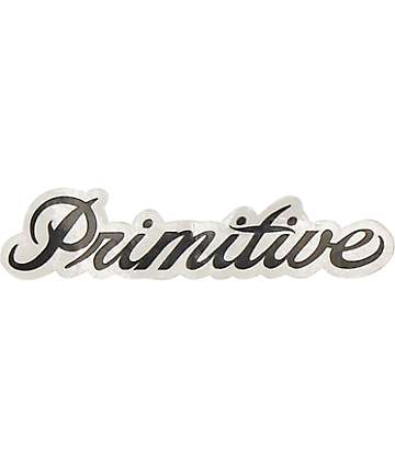 Primitive Signature Sticker