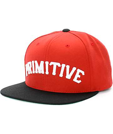 Primitive Slab Snapback Hat