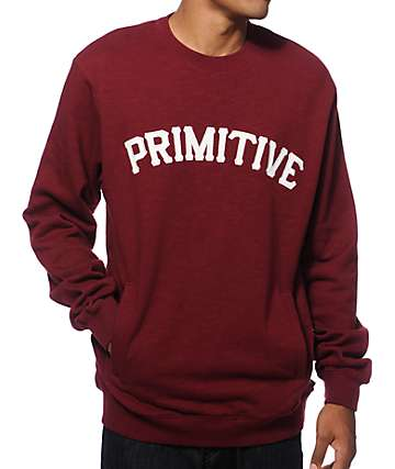 Primitive Slab University Crew Neck Sweatshirt