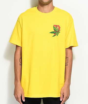 Primitive Smokey P Yellow T-Shirt