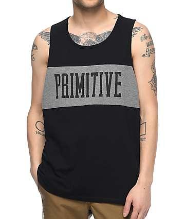 Primitive Sprinter League camiseta negra sin mangas