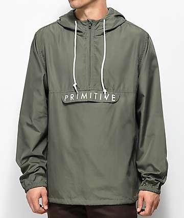 Primitive Staten Olive Anorak Jacket
