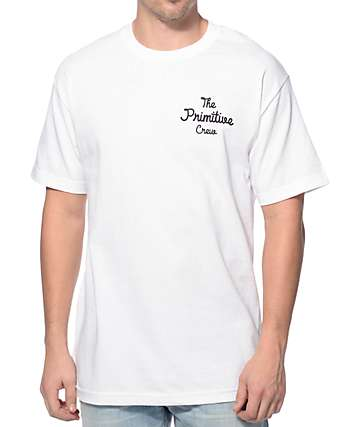 Primitive The Crew Black T-Shirt