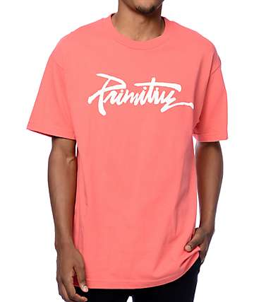 Primitive Thrashed Coral T-Shirt