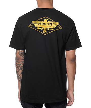 Primitive Thunderbird Black Pocket T-Shirt