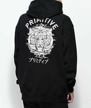 Primitive Tiger Black Hoodie