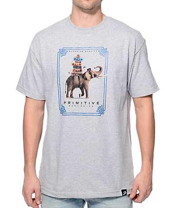 Primitive Traveler Heather Grey T-Shirt