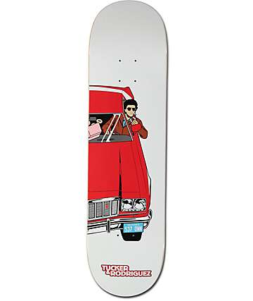 "Primitive Tucker Starsky 8.12"" Skateboard Deck"