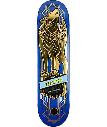 "Primitive Tucker Wolf 8.125"" Skateboard Deck"