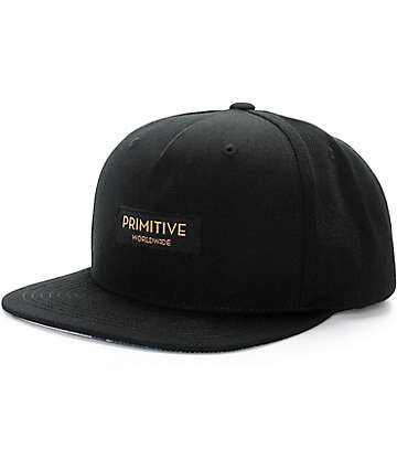 Primitive Worldwide Label Glamour Snapback Hat