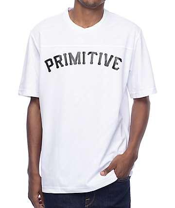 Primitive Worldwide White Soccer Jersey