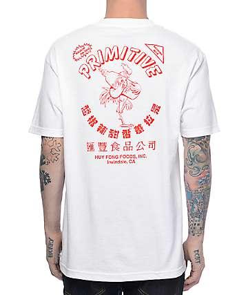 Primitive X Huy Fong camiseta blanca