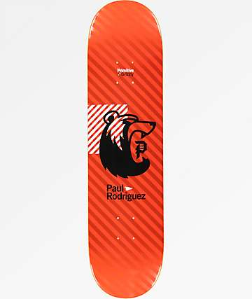 "Primitive x Grizzly Rodriguez Bearhaus 8.0"" Skateboard Deck"