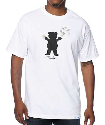 Primitive x Grizzly x Diamond Supply Co Bands Bear T-Shirt