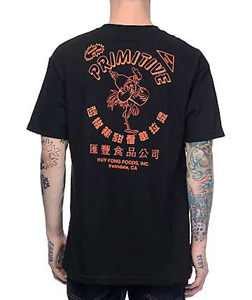 Primitive x Huy Fong Black T-Shirt