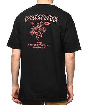 Primitive x Huy Fong Saucy Black T-Shirt