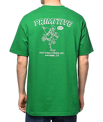 Primitive x Huy Fong Saucy Green T-Shirt