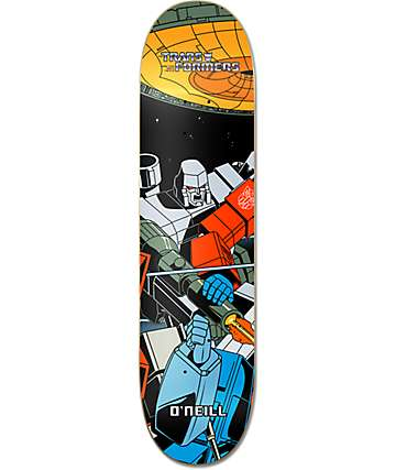 "Primitive x Transformers O'Neill Megatron 8.125"" Skateboard Deck"