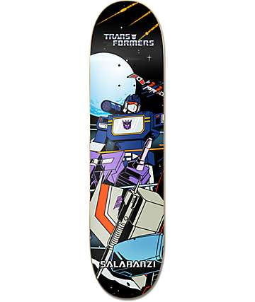 "Primitive x Transformers Salabanzi Soundwave 8.25""  Skateboard Deck"