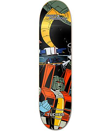 "Primitive x Transformers Tucker Starscream 8.125"" Skateboard Deck"