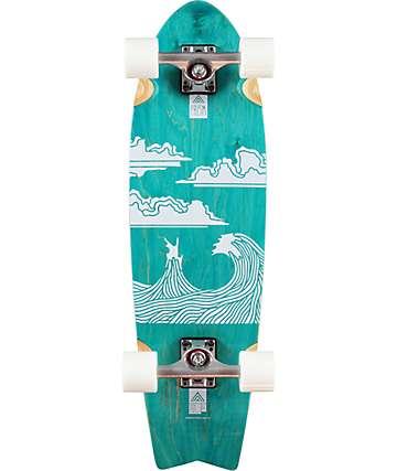 "Prism Captain Artist Series 30"" Cruiser Complete Skateboard"