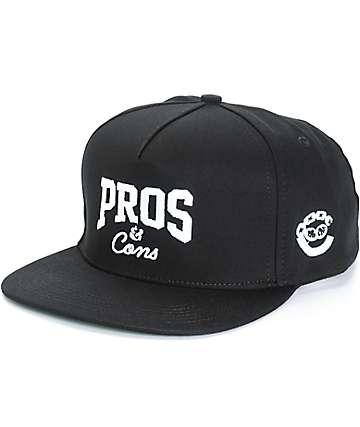 Pro Era x Crooks and Castles Pros & Cons Snapback Hat