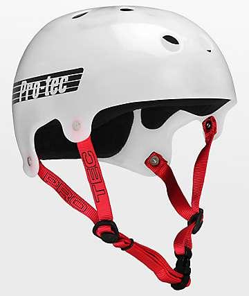 Pro-Tec Bucky Translucent White Helmet