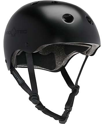 Pro-Tec casco negro multi-deporte certificado de CPSC