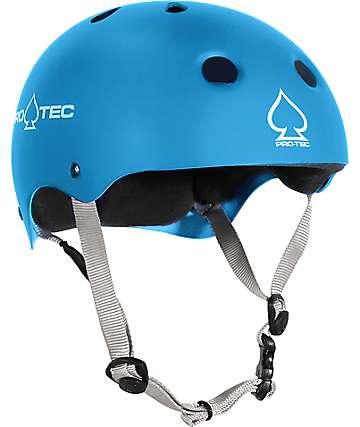 Pro-tec CPSC Certificado casco azul de skate para niños
