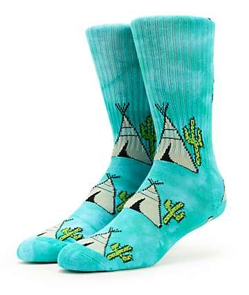 Psockadelic Peyotee Pee Crew Socks