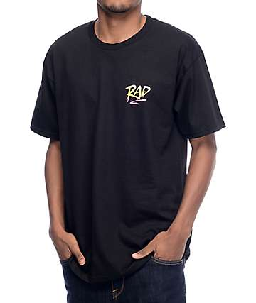 Psockadelic Rad Black T-Shirt