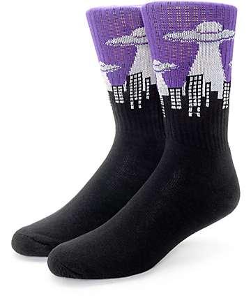 Psockadelic UFO Crew Socks
