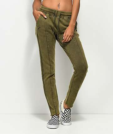 Publish Holly Washed Olive Seam Sweatpants