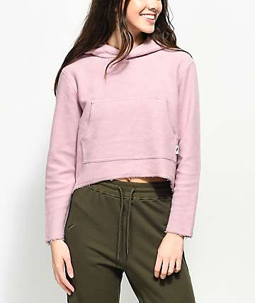 Publish Joanne Brushed Fleece Light Pink Hoodie