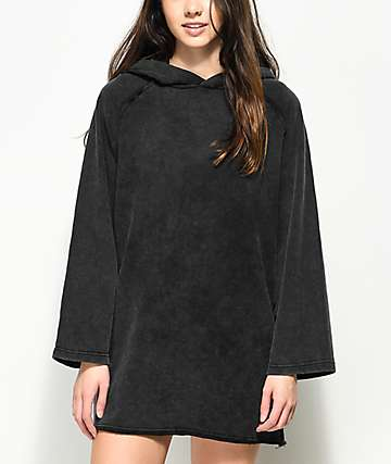 Publish Valerie Oversized Black Hoodie