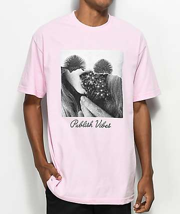 Publish Vibes Pink T-Shirt
