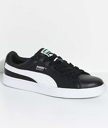 Puma Basket Classic LFS Black & White Shoes