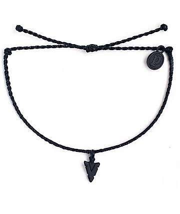Pura Vida Black Arrowhead Columbia Bracelet