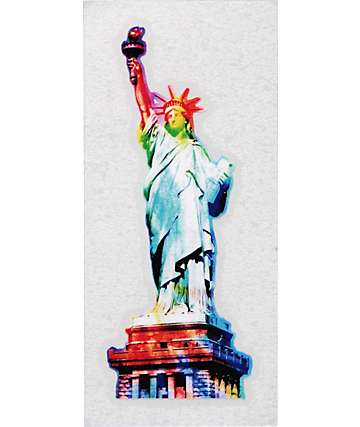 Quagmire Trippy Tie Dye Liberty Decal Sticker