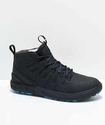 Quicksilver Patrol Mid Black & Blue Waterproof Shoes