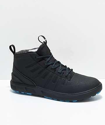 Quicksilver Patrol Mid Black & Blue Waterproof Shoes
