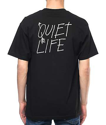 Quiet Life Arrow Black T-Shirt