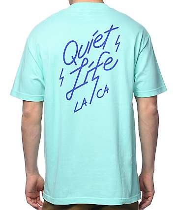 Quiet Life Bolt Celadon T-Shirt