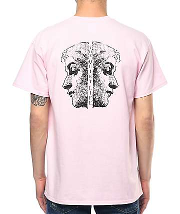 Quiet Life Face Off Pink T-Shirt